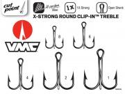 VMC X-STRONG ROUND CLIP-IN TREBLE