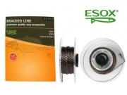 ESOX BRAIDED LINE CAMO BROWN, 10 m/25 lb
