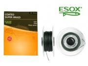 ESOX COATED SUPER BRAID MOSS GREEN, 10 m/25 lb