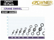OWNER 52481 CRANE SWIVEL