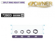 OWNER 52803 SPLIT RING HEAVY WIRE