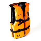 Vesta plávacia oranžová s píšťalkou