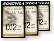 SIERRA TAPERED FLY LEADERS
