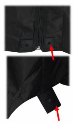 Dáždnik s bočnicou Bivi Liez 2,5m (zelený)