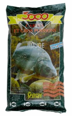 Krmivo 3000 Carpes Rouge (kapor červený) 1kg