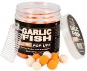 Plávajúce boilies Fluo STARBAITS Garlic Fish 80g