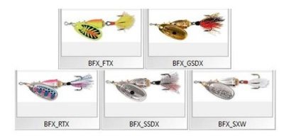 VIBRAX FOXTAL BFX - 2 - 3 - 4