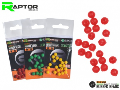 Raptor Rubber Beads