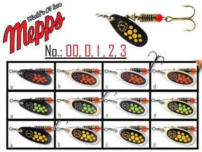 MEPPS BLACK FURRY veľkosť 2