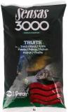 3000 Truites - pstruhové krmivo. 800g - červené
