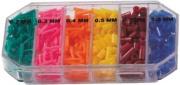 Bužírky na plaváky BOX, od 0,2 mm