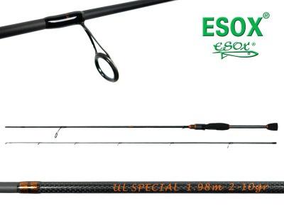 ESOX ULTRA LIGHT SPECIAL - 210 cm / 2-10g