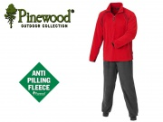 PINEWOOD MICROFLEECE SET RED