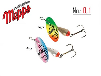 MEPPS XD  TIGER AND FLUO 0-1-2-3