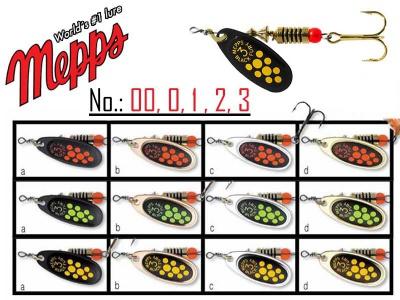 MEPPS BLACK FURRY veľkosť 1