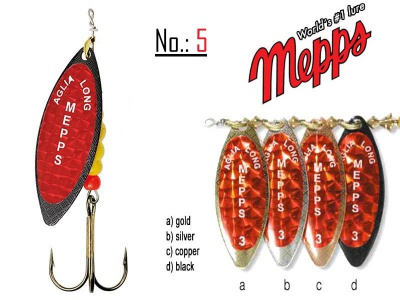 MEPPS AGLIA LONG REDBO 5
