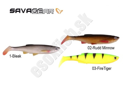 SAVAGE GEAR 3D BLEAK PADDLE TAIL