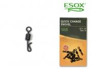 ESOX QUICK CHANGE SWIVEL, 10 ks