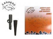 CARPERS SAFETY LEAD CLIPS WITH TAIL RUBBERS