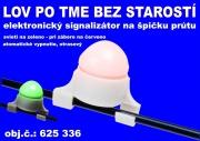 Elektronický signalizátor záberu na špičku.