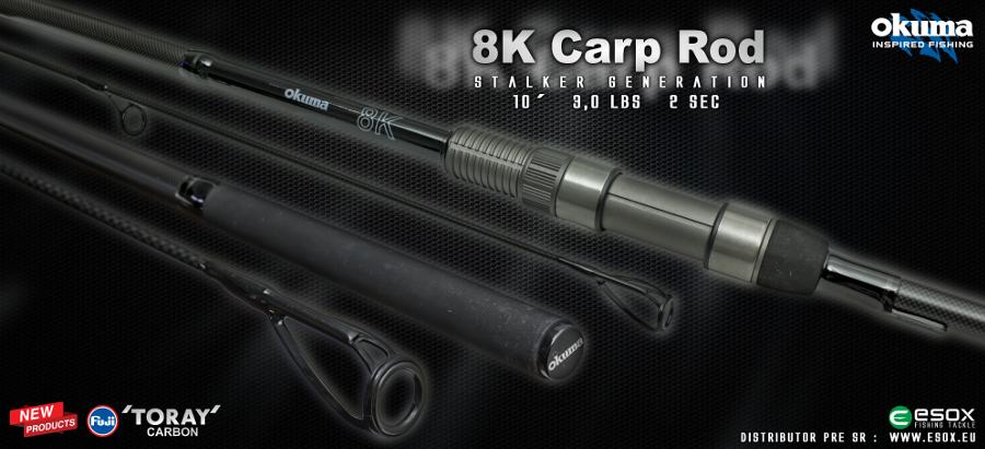 8K Carp Rods
